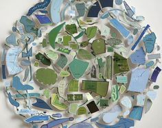 Chris Kenny: Island Mixed media construction with map pieces 3d Collage, Mixed Media Collage, Map Wall Art, Map Art, Ceramic Wall Art, A Level Art, Sense Of Place, Map Design, Artist At Work