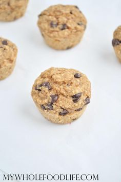 Chocolate Chip Oatmeal Bites - My Whole Food Life