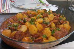 Linguiça calabresa com batata: receita fácil, rápida e saborosa