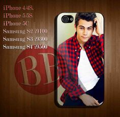 Dylan O'brien - iPhone 4/4S, 5/5S, 5C Case and Samsung Galaxy S2 i9100, S3 i9300, S4 i9500 Case.
