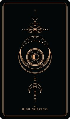 The High Priestess – Soul CardsYou can find Tarot cards and more on our website.The High Priestess – Soul Cards Tarot Tattoo, Wicca Tattoo, Alchemy Tattoo, Hamsa Tattoo, Witch Aesthetic, Major Arcana, Moon Art, Book Of Shadows, Compass Tattoo