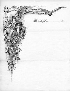 Inspiration. T. Sinclair & Son, 1883 | Source | Submitted by Kathleen Stocker