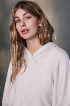 Cami Marrone in her Project Social T X Out From Under Janie Hoodie Sweatshirt