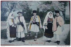 Postcards with folk costumes Folk Costume, Costumes, Vintage Photographs, Royalty, Textiles, Culture, Popular, Traditional, History