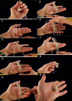 Popular DIY Crafts Blog: How to Make a Monkey Fist Knot
