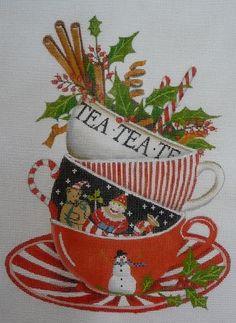 Great Melissa Shirley needlepoint canvas!