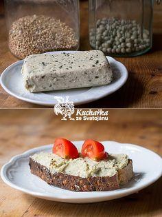 Kuchařka ze Svatojánu: POMAZÁNKA ZE ZELENÉHO HRACHU Pesto, Cheese, Dishes, Cooking, Vegetarian Dish, Healthy, Food, Kitchen, Tablewares