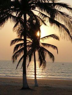 Goa, India - sunset