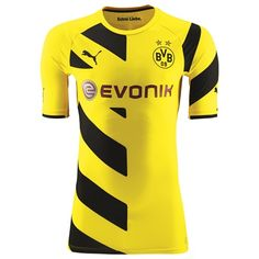 201415 Bundesliga My Soccer Universe Borussia Dortmund Home and Away Kits  released - the new Borussia Dortmund Home Shirt is yellow . afe47f98a