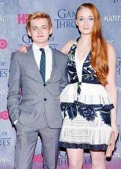 "Sophie Turner & Jack Gleeson | HBO's ""Game Of Thrones"" Season 4 - NYC Premiere (March 18, 2014)"