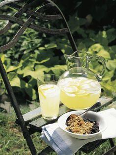 Pour a Pitcher of Homemade Lemonade