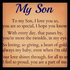 Always my son, alway proud of you. 11/7/85 - 6/23/14