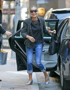 Sarah Jessica Parker was doing the most Carrie Bradshaw thing in these shoes. Find out what.