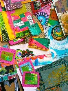 free art journaling kit by traci bautista