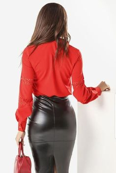 Black Leather Skirts, Leather Dresses, Leather Pants, Grey Leather, Sexy Skirt, Dress Skirt, Skirt Outfits, Sexy Outfits, Sexy Rock