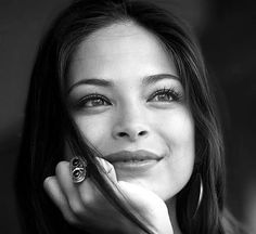 Kristen Kreuk. How can one person be this pretty?!