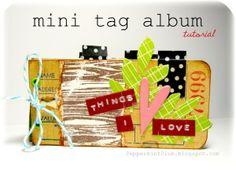 {Mini Tag Album} - Tutorial