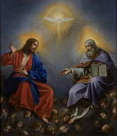 The Holy Trinity by Carlo Dolci