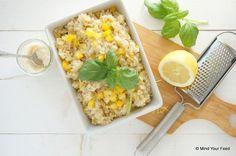Een van mijn favoriete zomermaaltijden is deze citroen risotto, een heerlijk fris gerecht dat je zonder al te veel moeite klaar maakt!