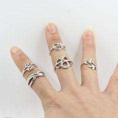 Women 5 Pcs Charm Above Knuckle Top Finger Midi Ring Set Jewelry Fantastic #bodhi1999szus