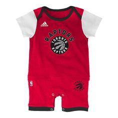 Toronto Raptors Fan Jersey Infant Romper