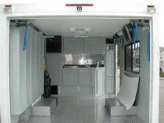 Enclosed Cargo Trailer Camper Conversion                                                                                                                                                      More
