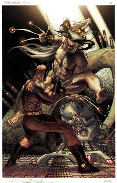 Romulus by Simone Bianchi - Wolverine Reborn Marvel Wolverine, Hq Marvel, Marvel Comics Art, Marvel Heroes, Anime Comics, Captain Marvel, Comic Book Characters, Comic Book Heroes, Avengers