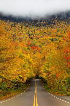 Smuggler's Notch, a Vermont state park.
