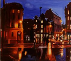 Albert Square Twilight 2004 by Liam Spencer