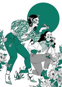 Not Now Studio x Laura Callaghan - Laura Callaghan Illustration