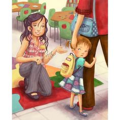 illustr.quenalbertini: Meet The Teacher by Jennifer Zivoin