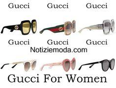 Occhiali Gucci primavera estate 2016 moda donna