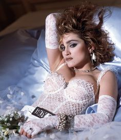 Madonna's white lacy dress that she wore for her performance at the 1984 MTV Music Awards is said to have started the lingerie-inspired trend.
