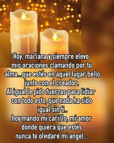 Miss My Mom, Missing My Son, Memorial Poems, God Prayer, Forever Love, In Loving Memory, Spanish Quotes, Dear God, Grief