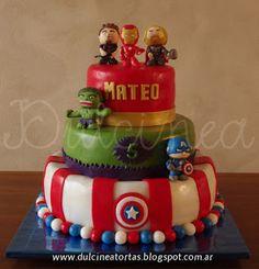 Torta The Avengers