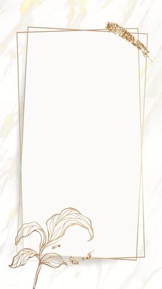 Floral Wallpaper Iphone, Gold Wallpaper Background, Framed Wallpaper, Wallpaper Backgrounds, Wallpapers, Instagram Frame Template, Snapchat Stickers, Floral Logo, Floral Border