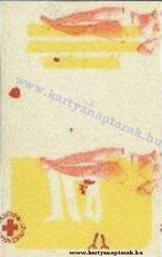 1964 - 1964_0146 - Régi magyar kártyanaptárak Pocket Calendar, Map, Retro, Cards, Pockets, Pocket Diary, Location Map, Maps, Maps