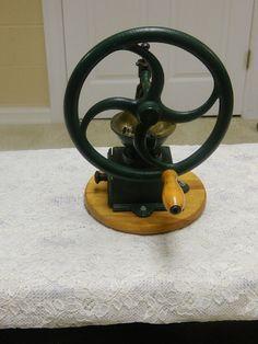 Vintage Italian Cast Iron Coffee Mill Grinder