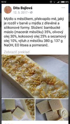 Masky, Soap Recipes, Projects To Try, Cosmetics, Homemade, Diy, Food, Home Made, Bricolage