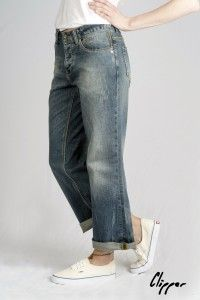 Women's Beat Denim Organic Clipper Jeans WAS £70 NOW £45 Available now at Monkeegenes.com