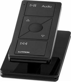 Lutron - Pico Wireless Control for Audio - Black - AlternateView11 Zoom
