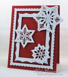 Bold Snowflakes by kittie747 - Cards and Paper Crafts at Splitcoaststampers