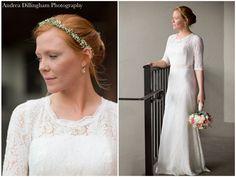 Bridal Portrait | Lace wedding dress | Marla + CJ | Wedding | ©2014 Andrea Dillingham Photography Lace Wedding, Wedding Dresses, Bridal Portraits, Engagements, Wedding Engagement, Weddings, Photography, Fashion, Bride Dresses