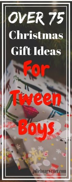 Over 75 Christmas Gift Ideas for Tween Boys. Gift guide for boys. Gift guide for tween boys. Holiday gifts. #GIFTIDEA #giftguide #giftguide2017 #ad #giftguideforkids #giftguidefortweens #giftguidefortweenboys #tweens #whattobuy #holidaygifts #shoppingonline #whattobuytweenboys #christmasgifts #christmasgiftideas #gifttips #momsandtheirboys #boys #Kidsgift #kidsgiftguide #kidsgiftidea
