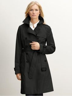 Banana Republic trench coat.