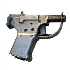 Liberator in ugly, single-shot pistol, cheaply made from stamped… 45 Caliber Pistol, Military Weapons, Military Surplus, Stuff And Thangs, Cool Guns, Guns And Ammo, Weapons Guns, Firearms, Hand Guns