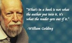 "William Golding - Lord of the Flies- Click the image to go to ""About the Author -William Golding-Power Point"""