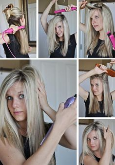 Blonde high lights and maintaining your special look.  Easy blowouts and straightening ideas.