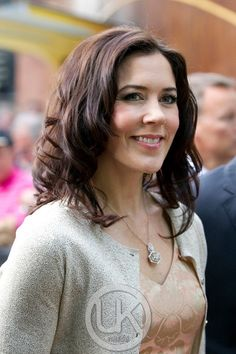Crown Princess Mary of Denmark and her lovely waves