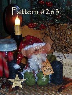 Patti/'s Ratties Primitive Raggedy Bird Ornies Bowl Fillers Paper Pattern #113